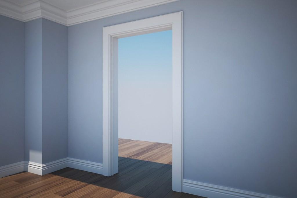 Doorframe, skirting & cornice using Bevel Profile