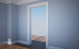 Skirting, Cornices & Door frames using Bevel Profile