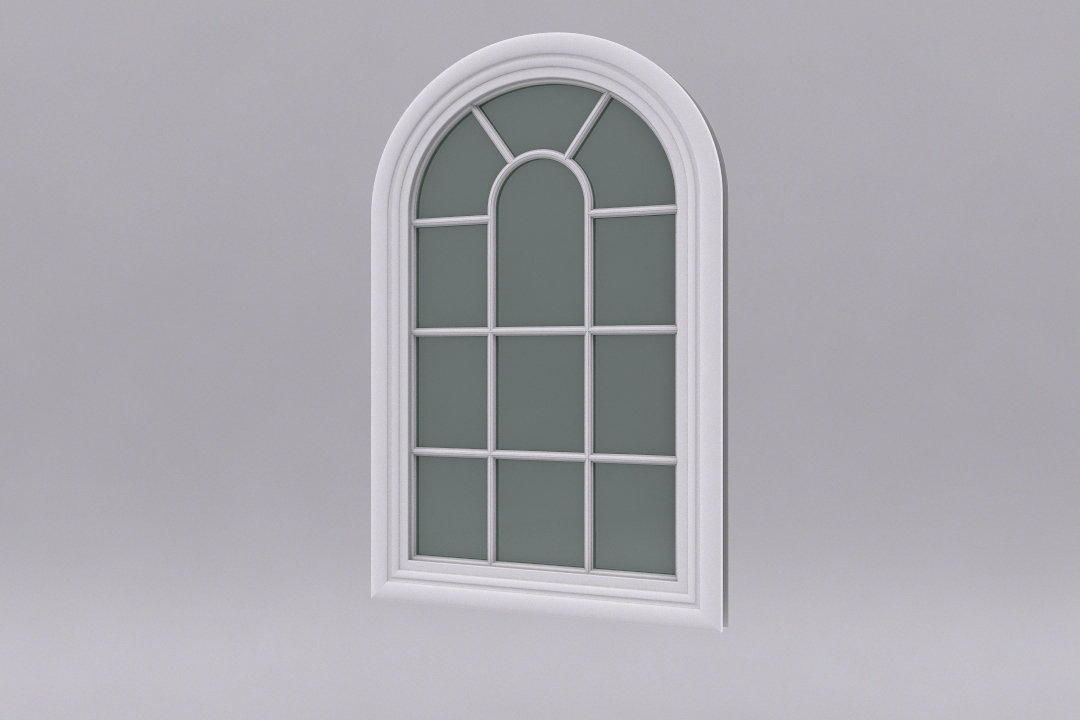 Modeling quick windows in 3d studio max cg for Window 3d model
